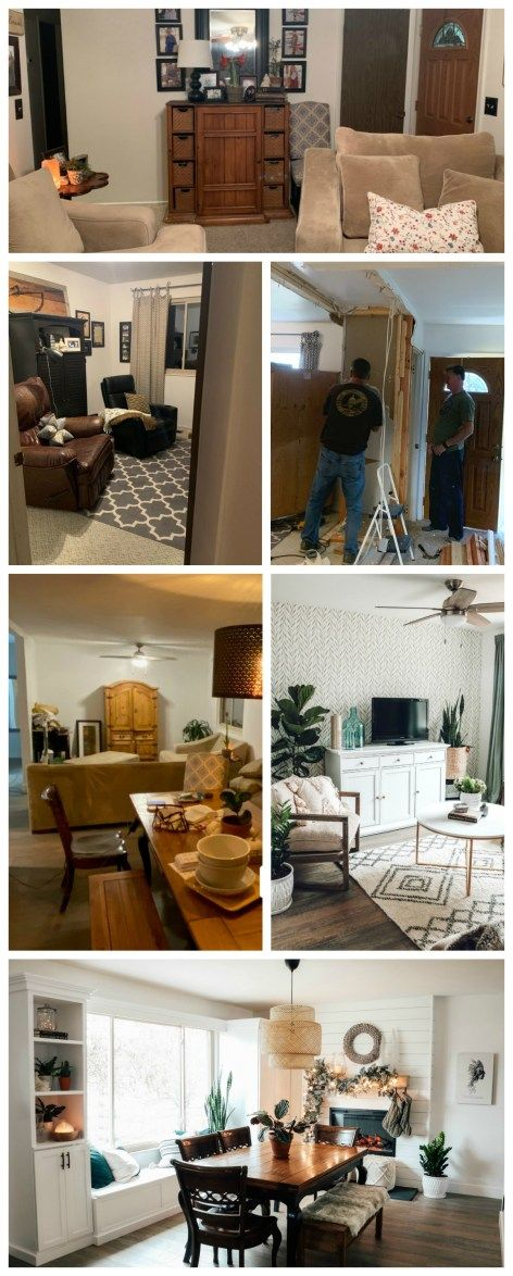 Mini Affordable Living Room Update With Joanna Gaines Wallpaper Nesting With Grace Affordable Living Rooms Living Room Update Shabby Chic Decor Bedroom