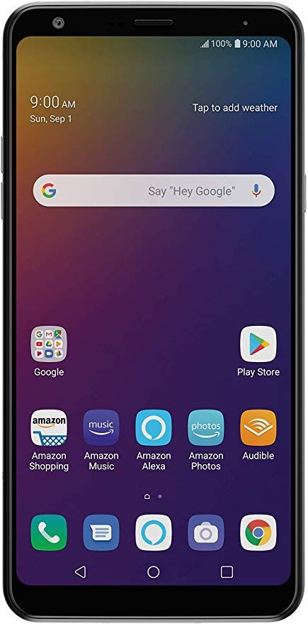 Amazon Com Lg Stylo 5 With Alexa Push To Talk Unlocked 32 Gb