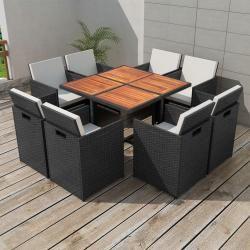 Polyrattan Sitzgruppen Essplatz Im Freien Gartenmobel Sets Und Gartenmobel