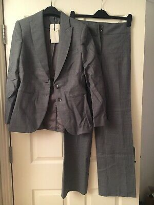 Advertisement Ebay Bnwt Austin Reed Grey Flannel Suit Work Formal Jacket Size 10 Trousers Size 8 Flannel Suit Casual Blazer Jacket Jackets Uk