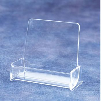 Business Card Holder Acrylic Desk Top Literature Display With 1 Pocket Bmbps 50ci Plastic Business Cards Business Card Holders Business Card Holder Display
