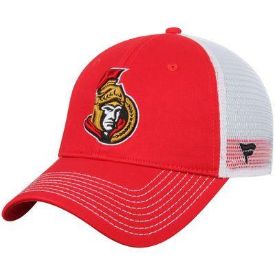 half off 78bea 8d1fe Men s Ottawa Senators Red Core Trucker Adjustable Snapback Hat