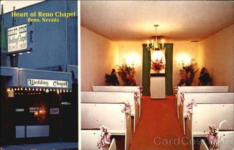 Heart Of Reno Wedding Chapel Chapel Wedding Reno Chapel