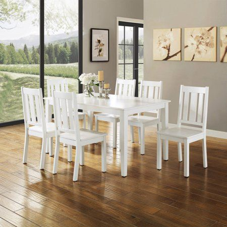 Better Homes And Gardens Bankston Dining Table Multiple Finishes Walmart Com Dining Room Table Set Classic Dining Room White Dining Room Table
