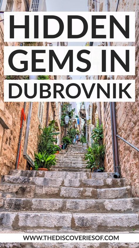 7 awesome things to do in Dubrovnik that you won't find in the guidebooks. #dubrovnik #croatia #traveldestinations #europe