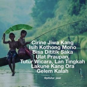 64 Mutiara Jawa Ideas Java Quotes Quotes Words