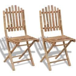 Gartenstühle Balkonstühle Bambus Stühle Rattan