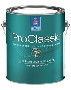 Good Paint For Cabinets Proclassic Waterborne Interior Acrylic Enamel Sherwinwilliams Paint Furniture Painting Laminate Furniture Painting A Crib