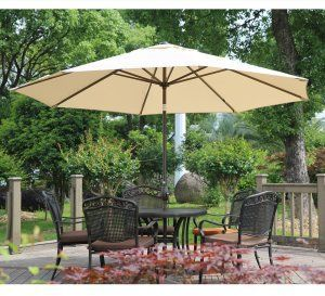 Abba Patio Is The Best 11 Ft Patio Umbrella In 2019 Review Patio Table Umbrella Patio Patio Umbrella