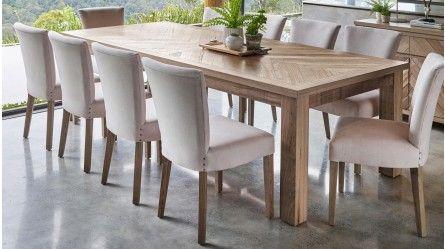 Herringbone 270cm Rectangular Dining Table Buy Dining Table