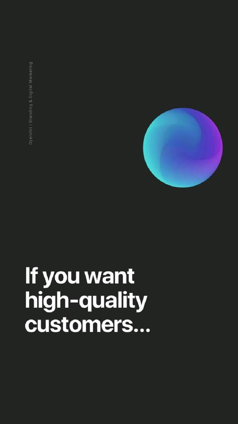 Do this, to get HQ Customers 🚀