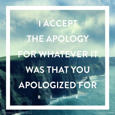 """""""I accept the apology for whatever it was that you apologized for"""" - Blue   Watch Julia Stiles in """"Blue"""" now: www.youtube.com/wigs #watchwigs"""