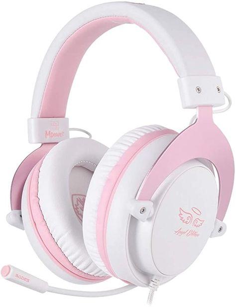 Cute Headphones, Gaming Headphones, Over Ear Headphones, Logitech, Xbox One, Gaming Headset, Gaming Room Setup, Pc Setup, Game Room Design