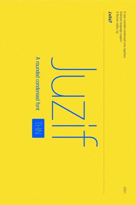 Juzif Thin (Single Font)