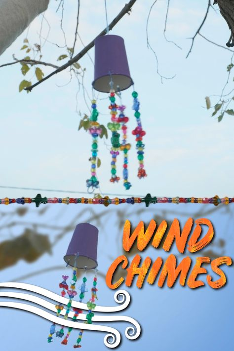 Create Fun DIY Wind Chimes - A Great and Simple Kid's Craft