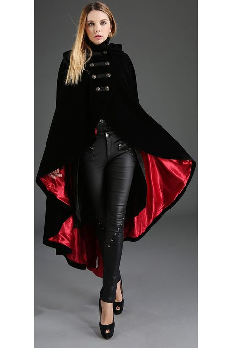 4499bade935 Pentagramme Gothic Cape