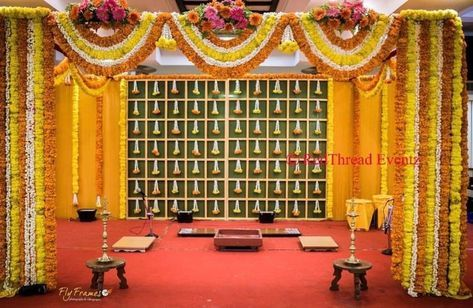 Image Result For Gaye Holud Stage Decoration Picture In 2019