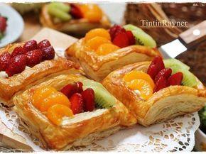Fruit Danish Pastry With Lemon Curd Pastry Resep Restoran