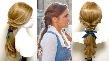 実写版 美女と野獣 ベルのハーフアップ 髪型の作り方 プリンセスの
