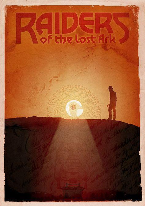 Raiders of the Lost Ark - Alternative Poster