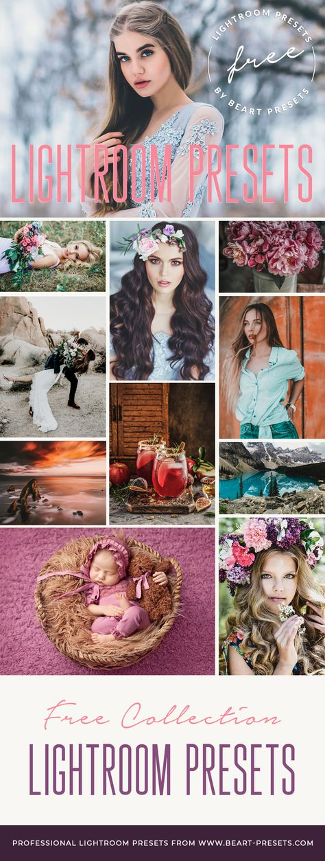 20 Free Lightroom Presets Collection