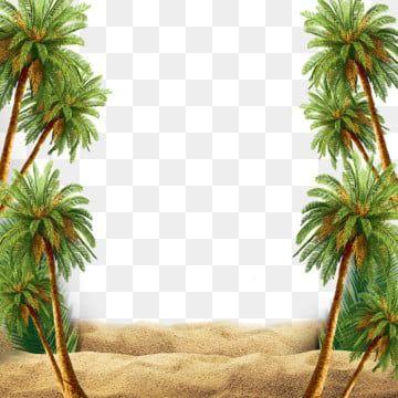 Grune Tropische Pflanzenpalmenblattgrenze Rand Clipart Palmblatt Botanik Png Und Psd Datei Zum Kostenlosen Download Palm Tree Icon Palm Tree Png Tree Icon