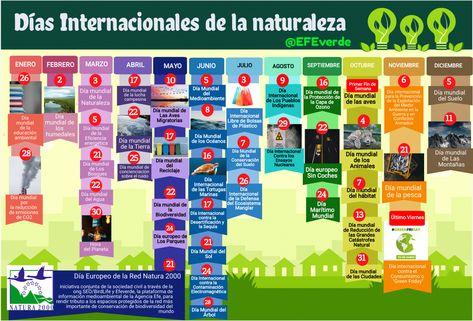Calendario Ecológico Algunas Fechas Destacadas Para Un 2021 Sostenible Efemerides Ambientales Calendario Consejos Para Redes Sociales