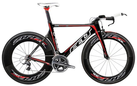 Felt Tri Bike with Zipp Wheels