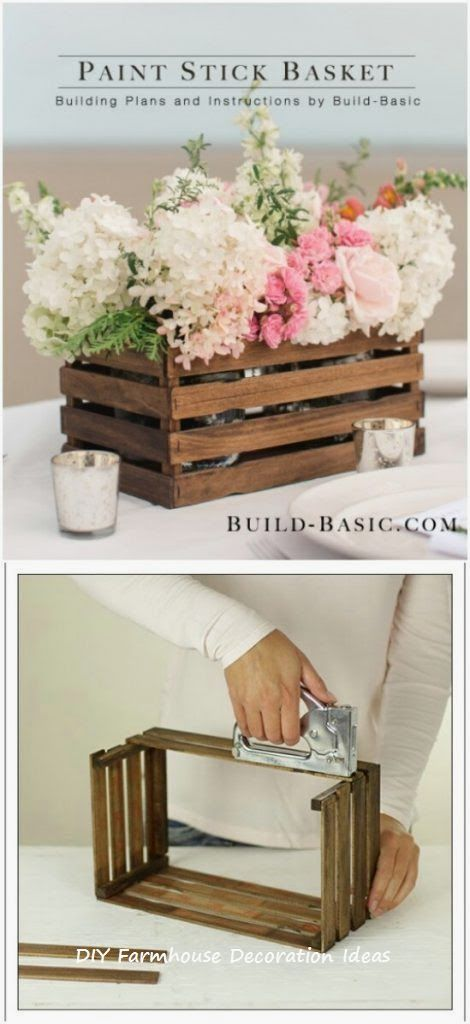 10 Easy Diy Wooden Craft Ideas 1 Storage Table Diy Home Crafts Pinterest Diy Crafts Decor Crafts