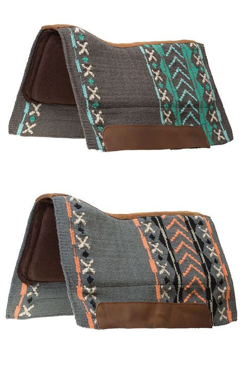 Weaver Leather's Synergy Saddle Pads will keep your horse comfortable with their Perfect Fit + Superior Shock Absorption technology! Plus they have these stylish and fun new native prints! So you and your horse can look and feel great! Shop at the link! Western Saddle Pads, Horse Saddle Pads, Western Horse Tack, Horse Gear, My Horse, Horse Riding, Western Saddles, Riding Gear, Horse Tips