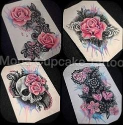 41+ trendige Tattoo Rose schwarz Zeichnung halben Ärmeln, #Black #blacktattoorose #drawing #R...