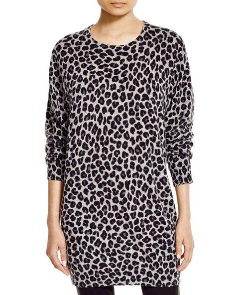 a08c0d519f44 Dkny Leopard Print Sweater Dress - 100% Bloomingdale's Exclusive