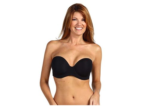 c105a1e9b You re not red carpet ready until you re wearing a Wacoal strapless bra.  Designed for the full bust. Seamless underwire contour cups offer ...