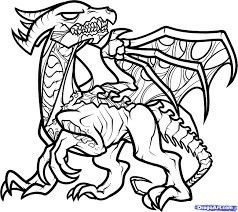 Pin By Toni Hastings On Graphics Minecraft Coloring Pages Dragon Coloring Page Animal Coloring Pages