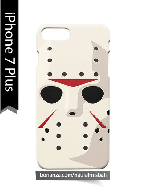 Jason Friday 13th Hockey Mask 3 iphone case