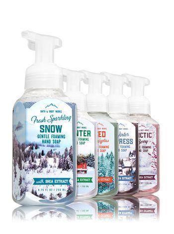 Fresh Sparkling Snow Foaming Hand Sanitizer Bath And Body Works