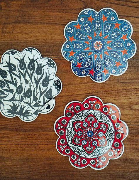Iznik Ceramic Trivets | Kitchen & Tableware | Ceramics, Hand ...