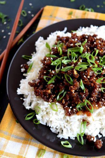 Korean Vegetarian Beef Vegan Ground Beef Korean Vegetarian Veggie Ground Recipes