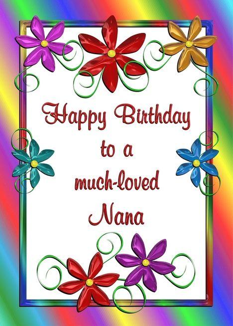 Happy Birthday Nana Images | Birthday Party