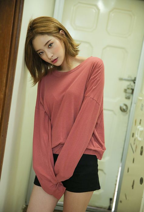 (Casual/Home) Sweater, Black Comfy Cotton Shorts