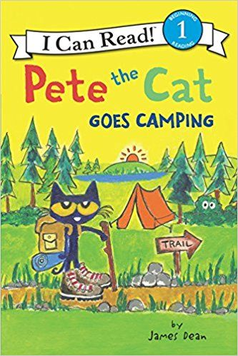 Pdf Download Pete The Cat Goes Camping I Can Read Level 1