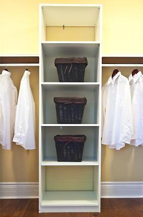 Simple Closet Organizer