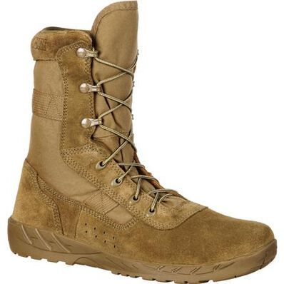Rocky C7 Lightweight Commercial Military Boot In 2020 Military Boots Lightweight Boots Mens Military Boots