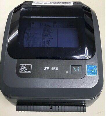 Brand New Zebra Zp 450 Label Thermal Bar Code Printer Thermal Label Printer Thermal Labels Label Printer