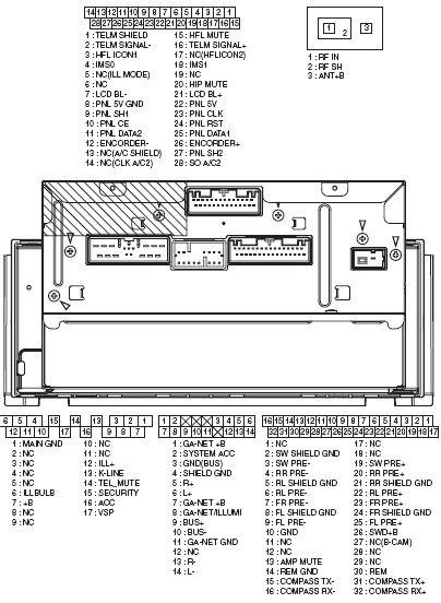 Honda Car Radio Stereo Audio Wiring Diagram Autoradio Connector Wire Installation Schematic Schema Esquema De Conexiones Stecker Konektor Connecteur Cabl Di 2020 Diagram