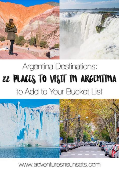 Argentina Destinations: 22 Incredible Places to Visit in Argentina (You Didn't Know Existed
