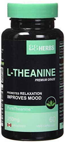 L-Theanine US Pharmaceutical Grade Veg Caps 250 mg 60 caps