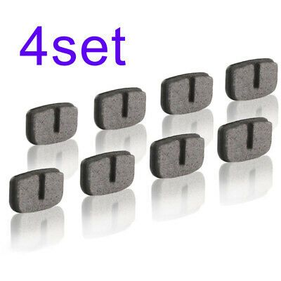 4 Pair Brake Pads Disc Motorcycle Outdoor Parts For 43cc 47cc 49cc Mini Bike Set