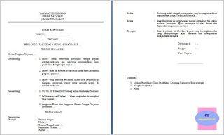 Contoh Format Sk Pengangkatan Kepala Sekolah Madrasah Swasta Kepala Sekolah Sekolah Pendidikan