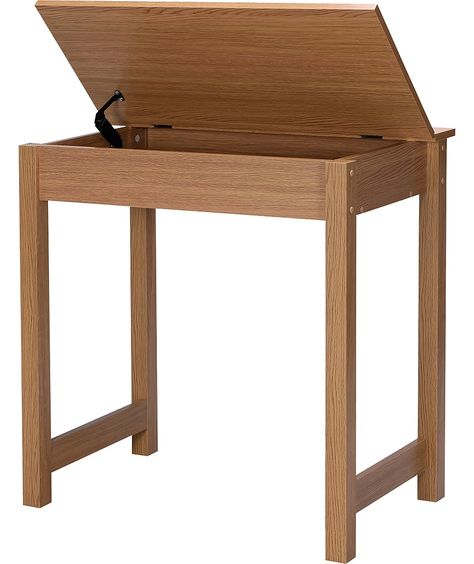 Argos Home Denbigh Office Desk Oak Effect